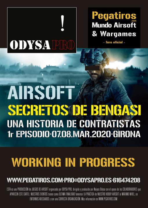 SECRETOS DE BENGASI: Presentación visual del terreno de juego y de las instalaciones Bengasi