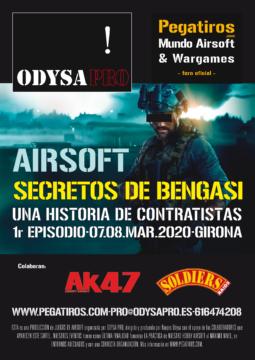 SECRETOS DE BENGASI - 7 y 8 de Marzo 2020 - AIRSOFT BY ODYSA