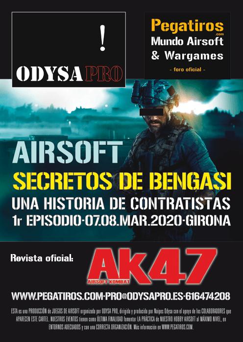 ¡Secretos de Bengasi en Airsoft Kombat 47! Bengasi