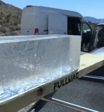 Test gel balístico vulcan 20mm