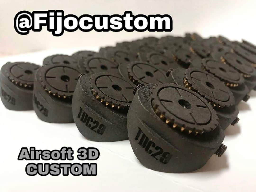 Fijo Custom presenta los nuevos reguladores 3D TDC Novedades