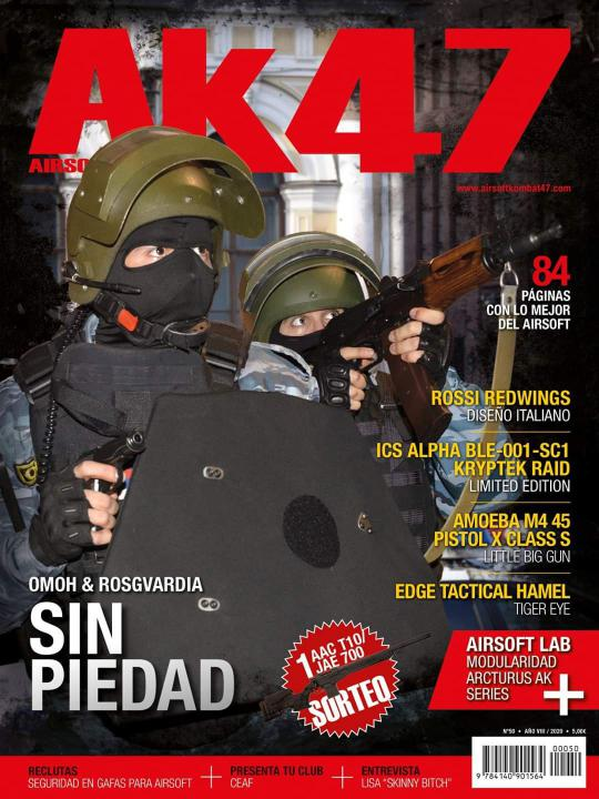 ¡Airsoft Kombat 47 cumple 50 revistas! Prensa