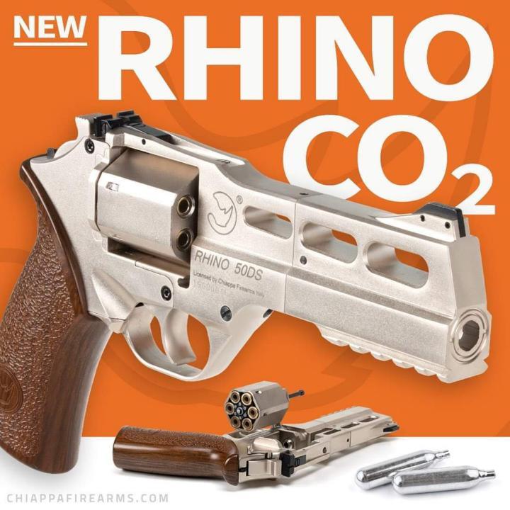 Próximo lanzamiento del revolver RHINO 50DS de 6mm para Airsoft. Novedades