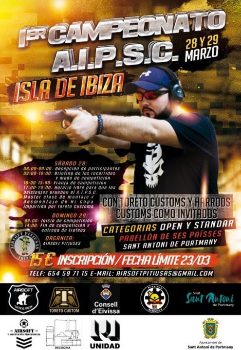 I Campeonato A.I.P.S.C. Isla de Ibiza Eventos