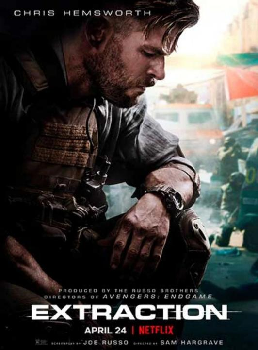 ¿Qué chaleco táctico utiliza Chris Hemsworth en la película Extraction? Equipación