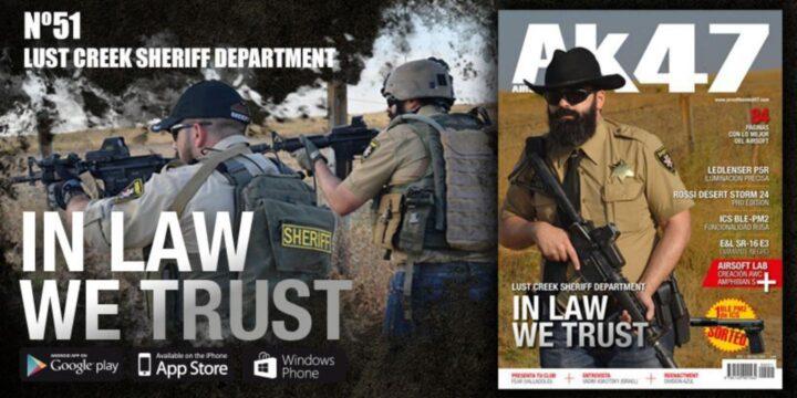 ¡Airsoft Kombat 47 revista oficial de Secretos de Bengasi MilSim! Bengasi Milsim