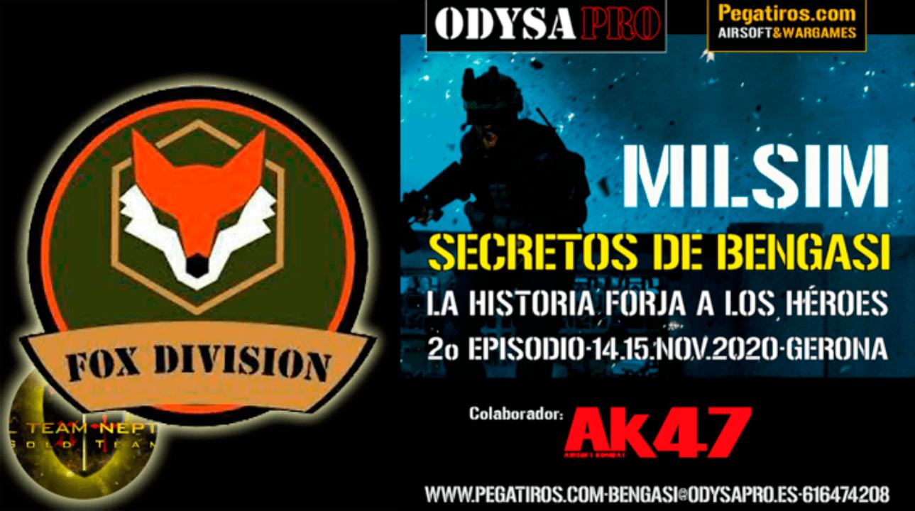 ODYSA damos la bienvenida a FOX DIVISION en Secretos de Bengasi MILSIM Bengasi Milsim