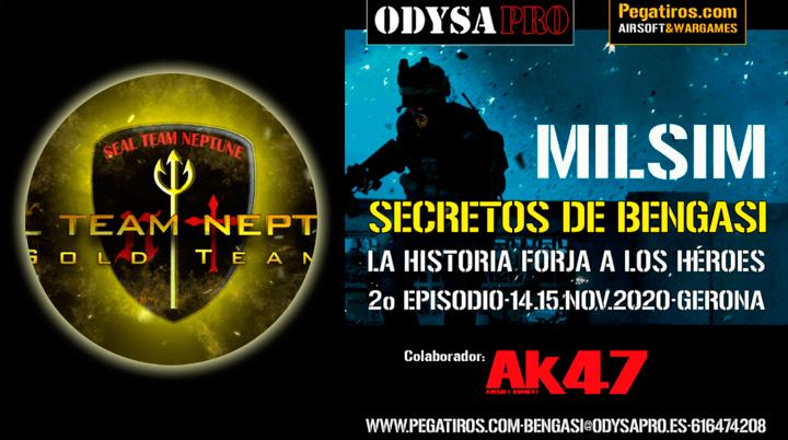 ODYSA damos la bienvenida a Seal Team Neptune en Secretos de Bengasi MILSIM Bengasi Milsim