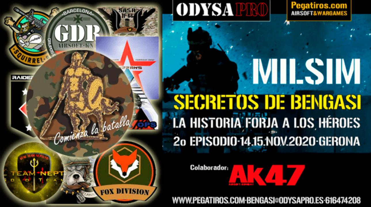 ODYSA damos la bienvenida a Centaur Airsoft en Secretos de Bengasi MILSIM Bengasi Milsim