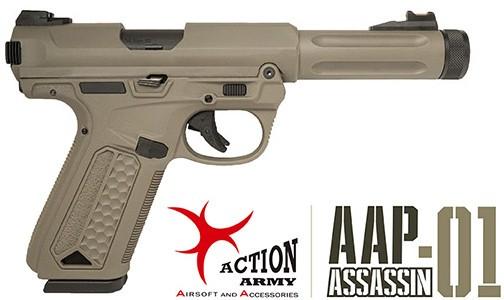 El Paraca nos presenta la pistola de Airsoft AAP 01 Assassin Action Army, Ruger handgun Reviews