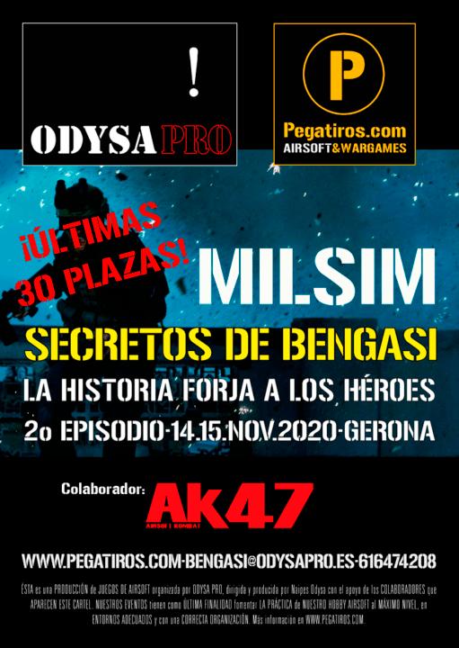 Secretos de Bengasi MILSIM: ¡Últimas plazas! Bengasi Milsim