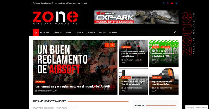 Damos la bienvenida a ZONE AIRSOFT MAGAZINE Prensa